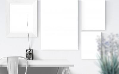 【分享篇】使用「3M 無痕 白色畫框掛扣-大型/中型/小型」安裝掛畫