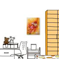 24mama掛畫 單聯式 花卉 油畫風 喜氣 無框畫 30X40cm-艷麗