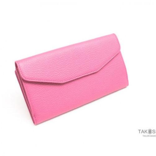 對折式女夾 長夾 手工皮件 客製化訂做 信用卡夾 鈔票夾
