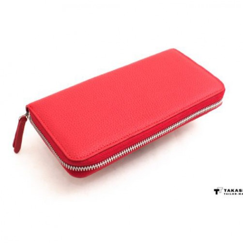 熱銷經典款 女用長夾 手工皮件 多卡設計 信用卡夾 名片夾 鈔票夾