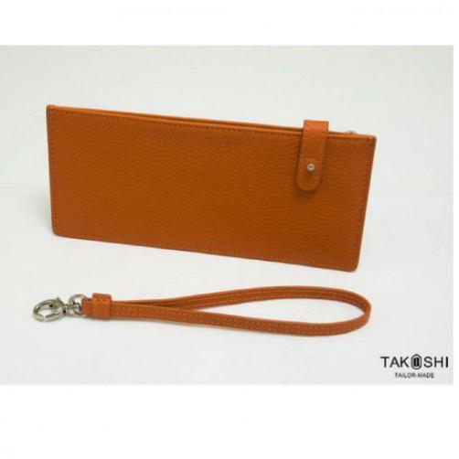 男女用 客製 鈔票夾 手拿 手提包 拉鍊式 免費燙印 信用卡夾
