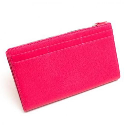 女用 長夾 皮夾 拉鍊式 手工皮件 小牛皮 真皮 客製化 信用卡夾 鈔票夾 英文燙印 可當小肩包內袋