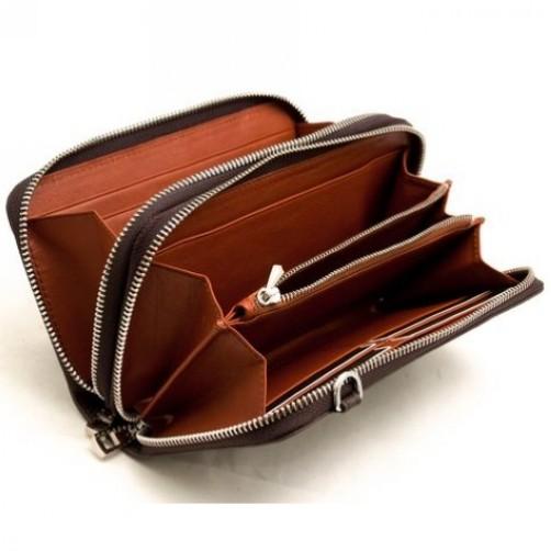 真皮雙拉鍊長夾 多卡皮件 手工客製 皮件燙印 鈔票夾 信用卡夾
