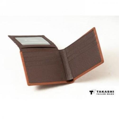 手工皮件 摺疊卡片短夾 超輕薄 名片夾 信用卡夾