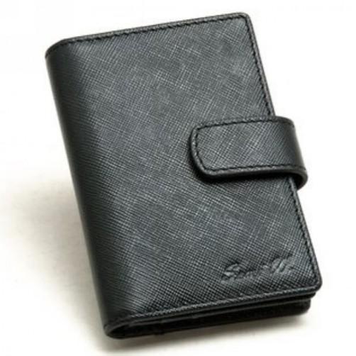 十字紋皮革  手工皮件 名片夾 皮套 信用卡