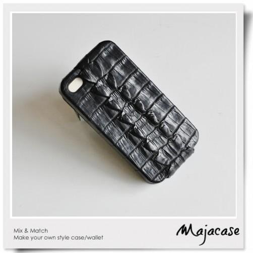 手工訂製 iPhone4 iPhone5 PDA直立式 上下翻皮套
