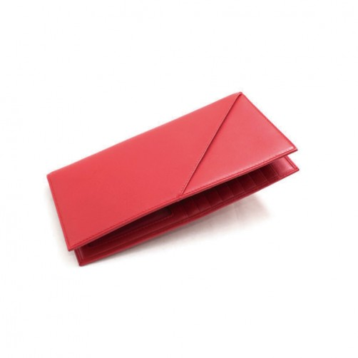 女用 長夾 護照夾 信用卡夾 手工客製 小牛皮 真皮 多卡皮件 風琴式 免費燙印