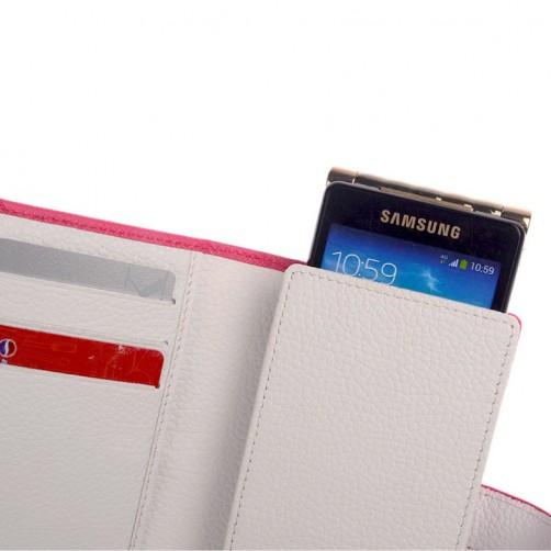 蘋果/三星/華碩/sony /iphone手工皮套 3C精品 時尚耐用 手機周邊配件 手機套客製化 直式皮套 彩色燙印