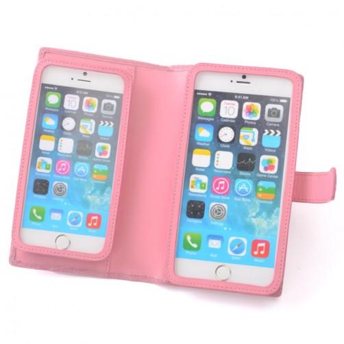 蘋果/三星/華碩/sony /htc/LG/iphone6/iphone7手機套客製化 雙手機 雙手機皮套手工皮套 3C精品 時尚耐用 手機周邊配件 直式皮套 彩色燙印