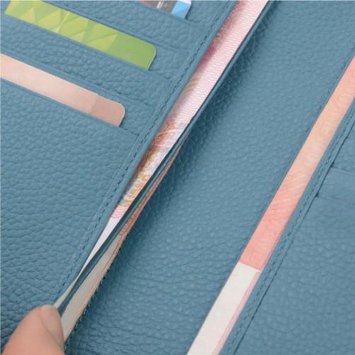 兩折式 女用長夾 鈔票夾 信用卡夾 手工皮件 精品皮件