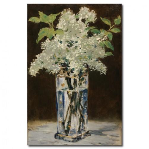 【123點點貼】花卉壁貼 無框畫壁貼 單聯式 40x60cm-玻璃瓶中的花