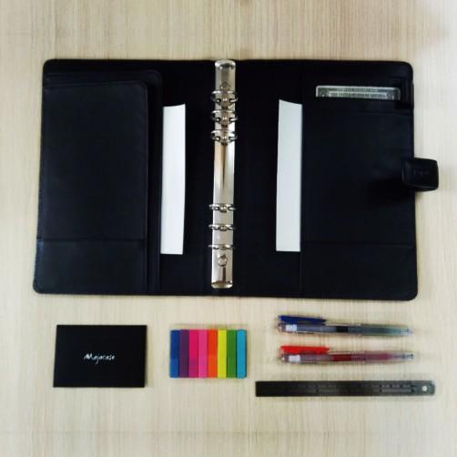 金屬夾式筆記本 萬用手冊 經理夾 信用卡 名片 資料夾 客製皮件 免費燙印 專業精緻皮件客製