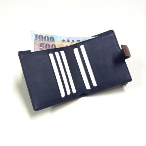摺疊式短夾 鈔票夾 信用卡夾 短夾 名片夾 客製皮件 免費燙印 專業精緻皮件客製