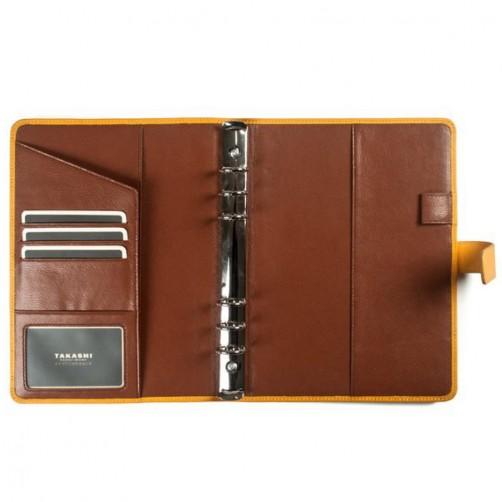A5:6孔 筆記本皮套 經理夾 客製訂作 信用卡夾 手工皮件量身訂作 手工皮革筆記本 手帳 手札 記事本 書套 免費燙印