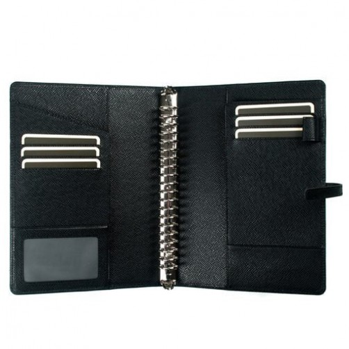 A5 20孔 加寬版 筆記本皮套 經理夾 客製訂作 信用卡夾 手工皮件量身訂作 手工皮革筆記本 手帳 手札 記事本 書套 免費燙印