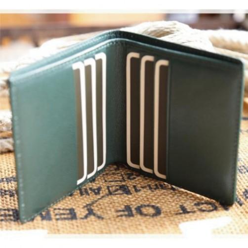 多功能短夾 女用皮夾 鈔票夾 信用卡夾 手工皮件 客製化 客製化皮件 免費燙印 彩色燙印 包類款式 飾品 配件