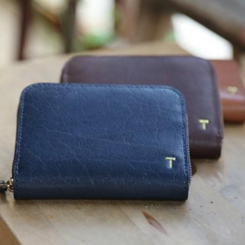 客製化精緻皮件 女用零錢包 手工皮件量身訂作 真皮 拉鍊 鑰匙包 免費彩色燙印