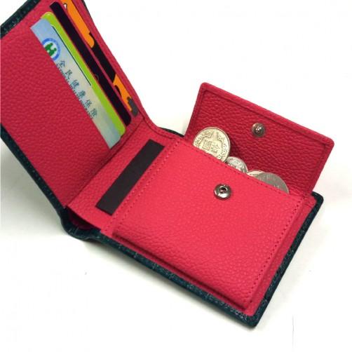 免費彩色燙印 客製化手工皮件 真皮短夾 多卡層 信用卡夾 鈔票夾 證件夾 名片夾 精品皮件 牛皮訂製 小牛皮