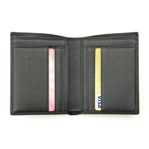 短夾 翻開式 客製化手工皮件 多卡層 信用卡夾 鈔票夾 證件夾 名片夾 零錢袋 精品皮件 免費彩色燙印
