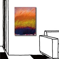 【123點點貼】24mama 壁貼 牆貼 家居飾品 單聯式 直幅 30x40cm-邊境